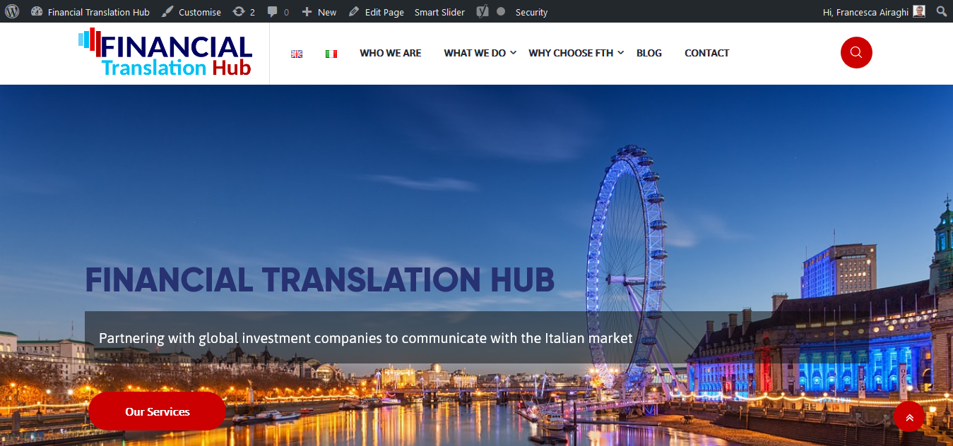Financial Translation Hub, traduzioni in ambiente finance, da Londra